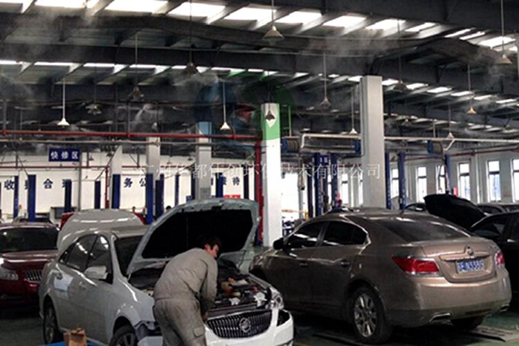 车间喷雾降温设备,高压微雾加湿设备,厂房车间喷雾降温降尘设备