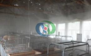 养殖场喷雾除臭消毒系统,养殖场喷雾除臭消毒,养殖场喷雾除臭系统,高压喷雾消毒设备