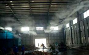 陶瓷厂喷雾除尘,陶瓷厂喷雾降温除尘系统,陶瓷厂喷雾降温除尘,陶瓷厂房喷雾降温除尘系统