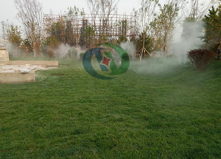 户外喷雾降温设备,绿化带喷雾,喷雾降温系统