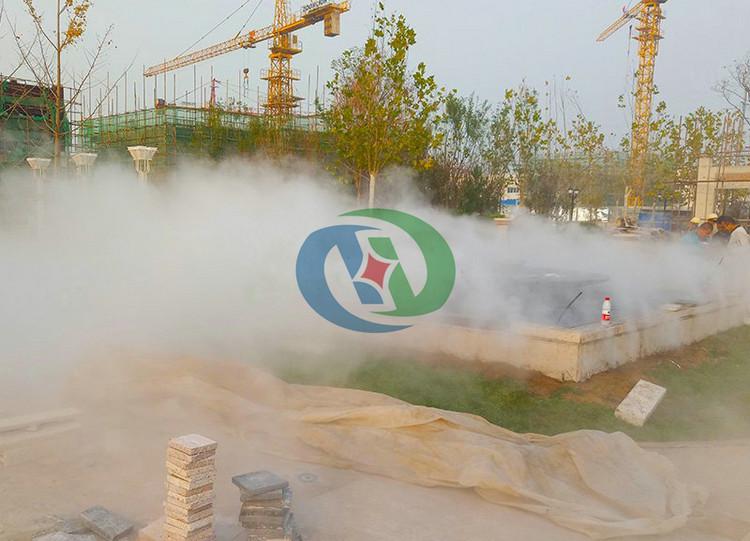 喷雾除尘系统,工地围挡喷雾除尘,围挡喷雾除尘